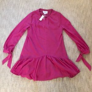 Women's Pink Shift Dress || Anthropology